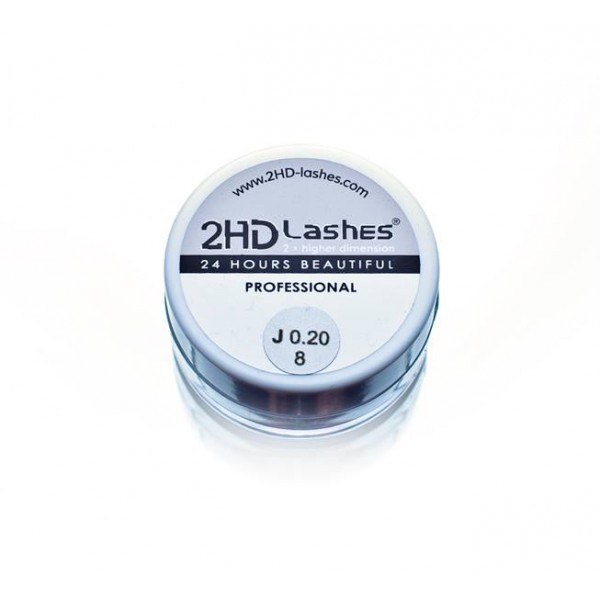 "J; B; C; D (0.10-0.25)  2HD Lashes® -              ""Soft & light"" type. 0.5 g"