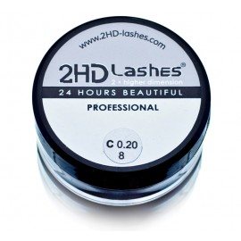 "2HD Lashes® -""Soft & light"" type. 1 g"