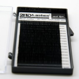 16 juostelų 2HD Lashes® Mink MIX Paletė  0.05; 0.07; 0.10; 0.20; 0.25