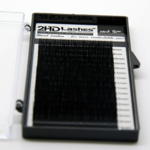 16 juostelų 2HD Lashes® Mink MIX Paletė   0.07; 0.10; 0.20; 0.25